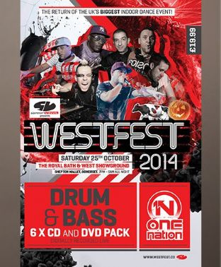 Westfest 2014 - Drum & Bass Pack